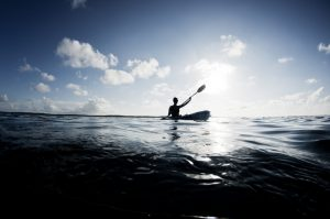 Solo Kayaker 3